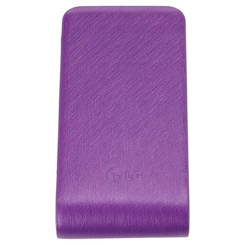 LG Original Leather Case Universal Purple