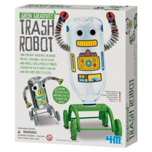 Green Creativity Trash Robot