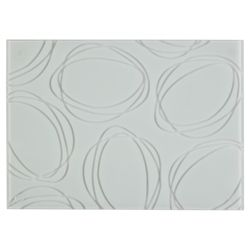 Tesco Set of 4 Glass Placemats.