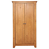 Suffolk 2 Door Wardrobe, Pine