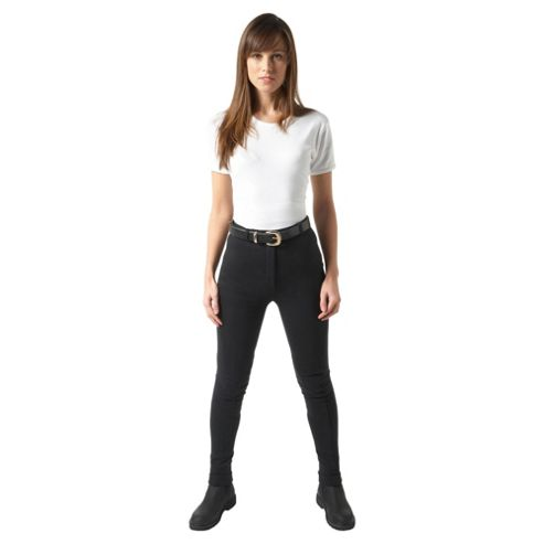 Harry Hall lds Atlanta black Jodhpurs 28