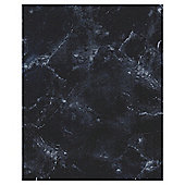 Elegant Black Marble Effect Tile