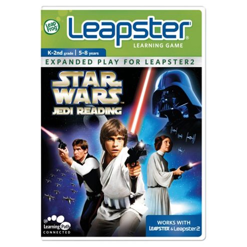 LeapFrog Leapster 2 Star Wars Jedi Reading