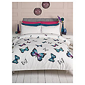 F&F Home Cascade Butterflies Single Duvet Set