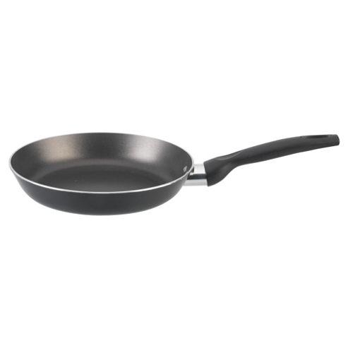 Aluminium 20cm Omelette Pan, Black, Teflon Coated