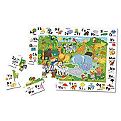 Games My Abc Jungle Safari Jigsaw Puzzle