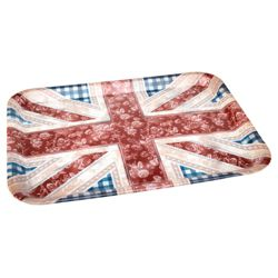 Tesco Floral Union Jack Tray.