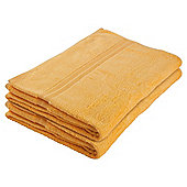 Tesco Bath Sheet Pair Amber