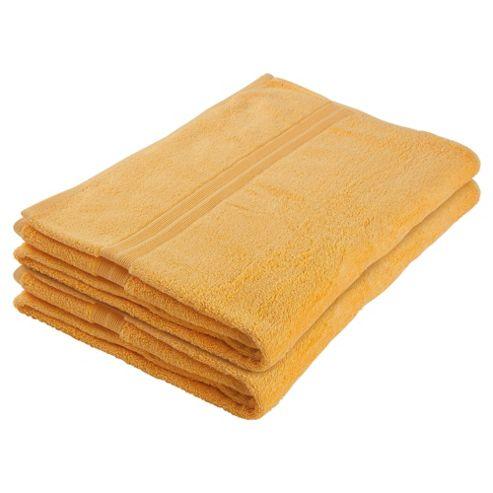 Tesco Bath Sheet Pair Amber