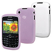 Flex case Twin Pack BlacKBerry 8520 Pink and White