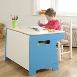 Millhouse Race Track Toy Box and Desk