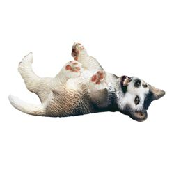 Schleich Husky Puppy Lying