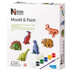 Natural History Museum Mould & Paint Dinosaur
