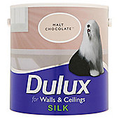 Dulux Silk Malt Chocolate 2.5l
