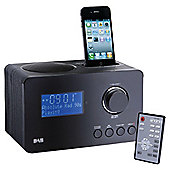 Technika DAB129IDV DAB radio with iPod docking