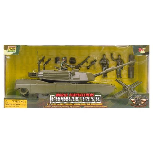 World Peacekeeper's Combat Tank- Assortment – Colours & Styles May Vary