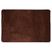 Tesco Rugs Shaggy Rug 100X150Cm Chocolate