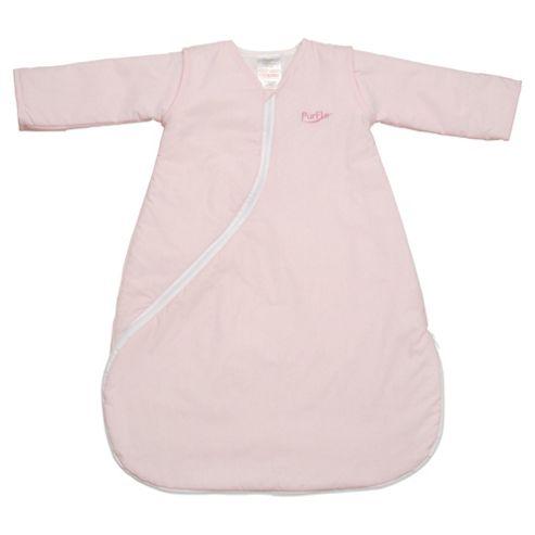 PurFlo Baby 1 Tog SleepSac, 18 months+,  Light Pink
