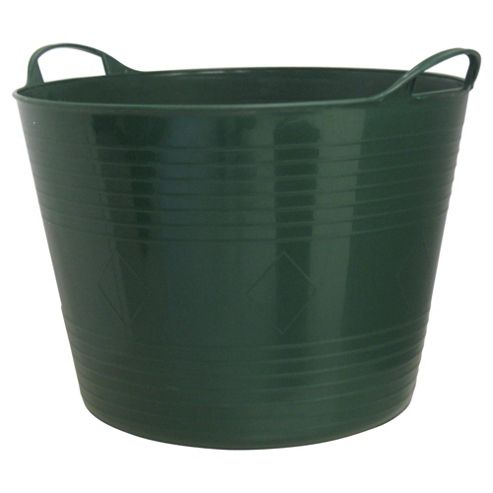 Tesco 42L Flexitub Garden Green