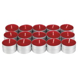Tesco spiced wild berry tealights, 30 pack