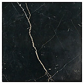 Polished Marble W&F Tile (30x30cm) Black