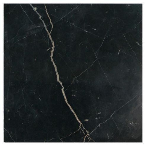 Polished Marble Tile (30x30cm) Black