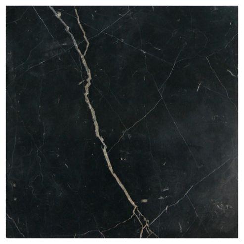 Polished Marble Tile (30x30cm) Black