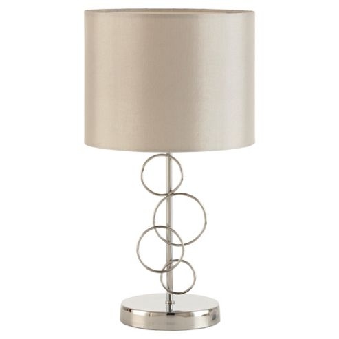 Tesco Lighting Hula Table lamp Grey