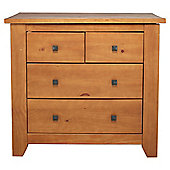 Suffolk 4 Drawer Chest, Pine