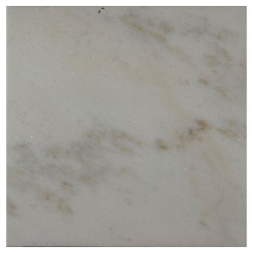 Polished Marble Tile (30x30cm) White