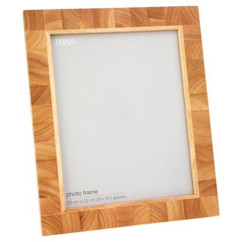 Tesco Light Wood Block Frame 8x10