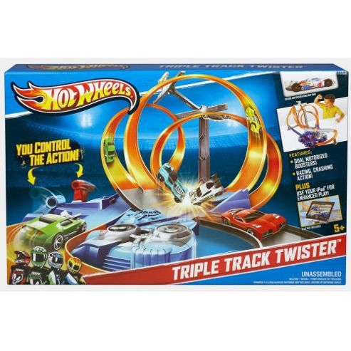 Hot Wheels Triple Track Twister Trackset