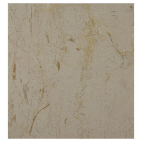 Polished Marble Tile (30x30cm) Cream