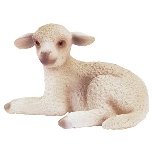Schleich Lamb, Lying