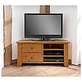 Suffolk Pine Corner Tv Unit