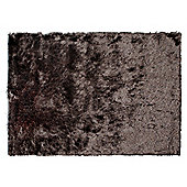Tesco Rugs Luxurious Shaggy Rug Chocolate 120X170Cm