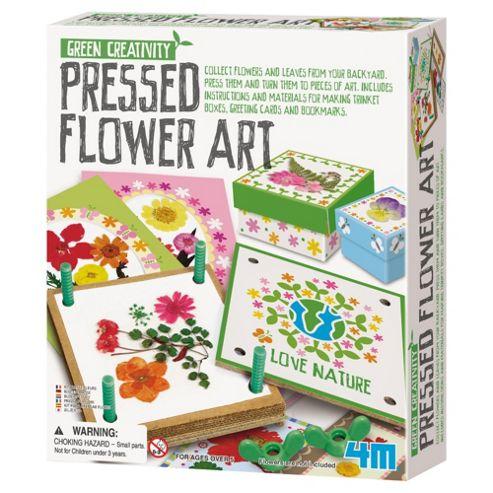 Green Creatvitiy Pressed Flower Art