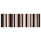 Tesco Rugs - Stripe runner natural 67x200cm
