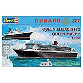 "Revell Gift-Set ""Cunard Line"""