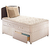 Sealy Diamond Excellence Single 2 Drawer Divan Bed