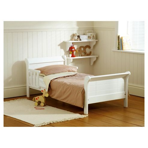 Saplings Poppy Junior Bed, White