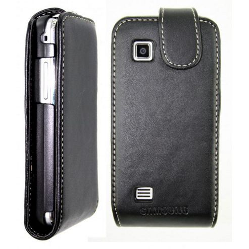 Samsung Leather Flip Case Samsung Tocco Black