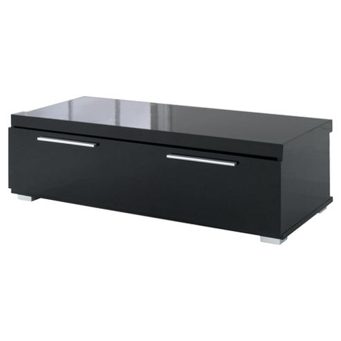 Buy Milan High Gloss Coffee Table With Chrome Handles Black From Our Coffee Tables Range