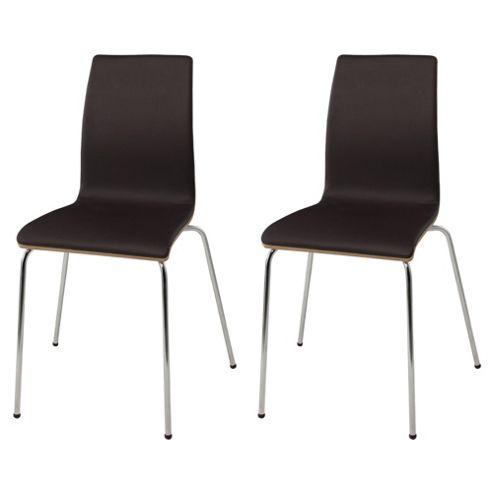 Pair Of Padova Chairs, Oak Veneer