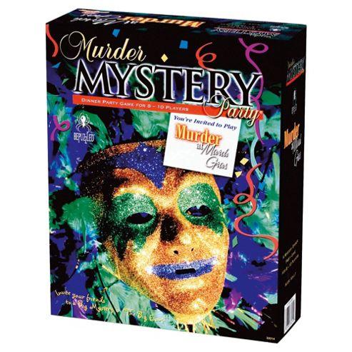University Games Murder Mystery Party Murder At Mardi Gras