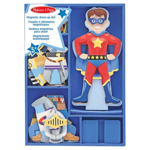 Melissa & Doug Billy Magnetic Wooden Dress-Up