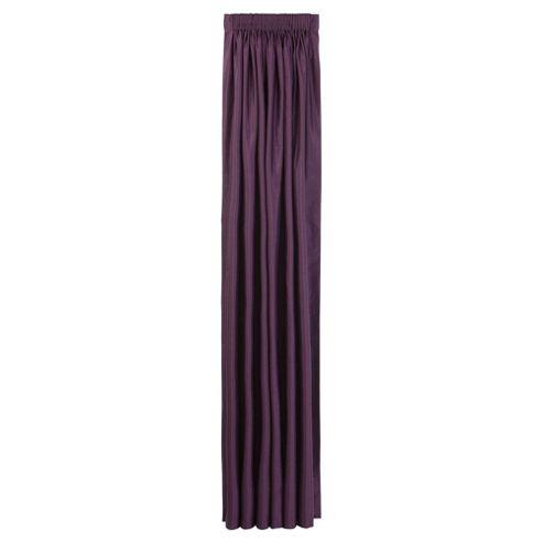 Faux Silk Lined Pencil Pleat Curtains W163xL183cm (64x72