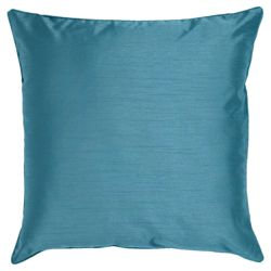 Tesco Set of 2 Faux Silk cushions, teal