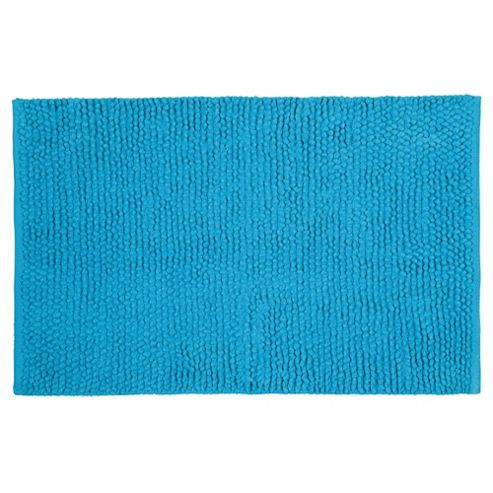 Tesco Chenille Loop Mat Turquoise