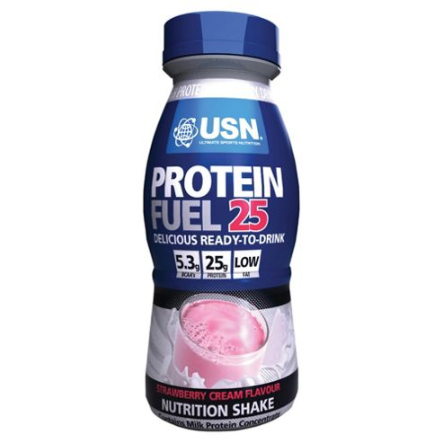 USN Protein Fuel 25 RTD Strawberry 330ml